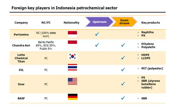 Petrochemical business in Indonesia…a challenging